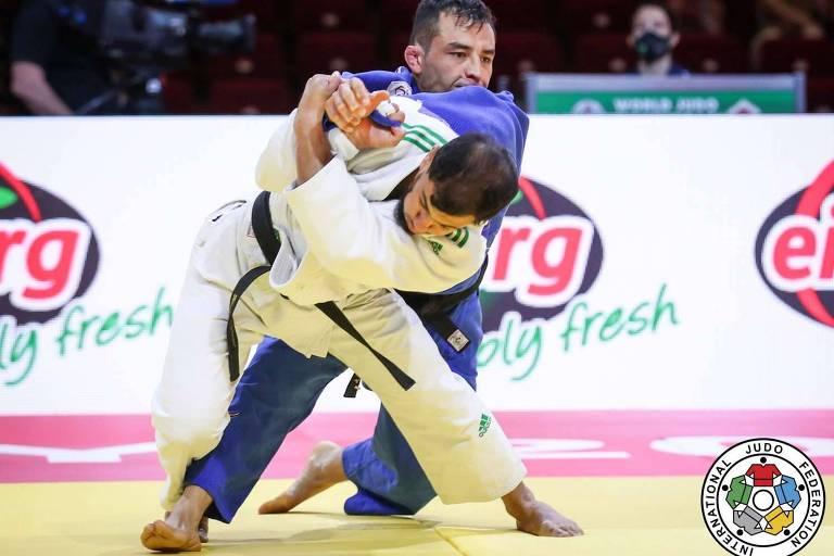 Fethi Nourine enfrenta Eduardo Barbosa no Mundial da Hungria-2021