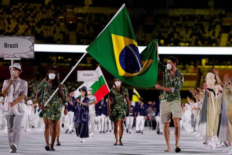 Transmissão da Globo de cerimônia olímpica se dividiu entre merchan e geopolítica