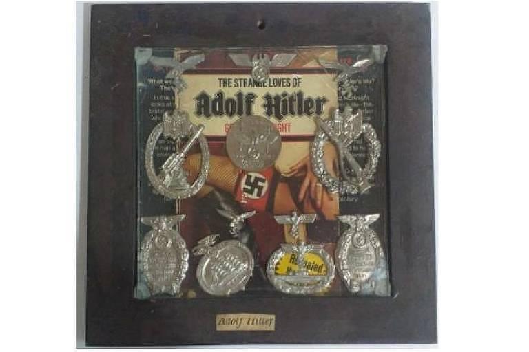 Justiça do RJ suspende leilão de obra com símbolos nazistas
