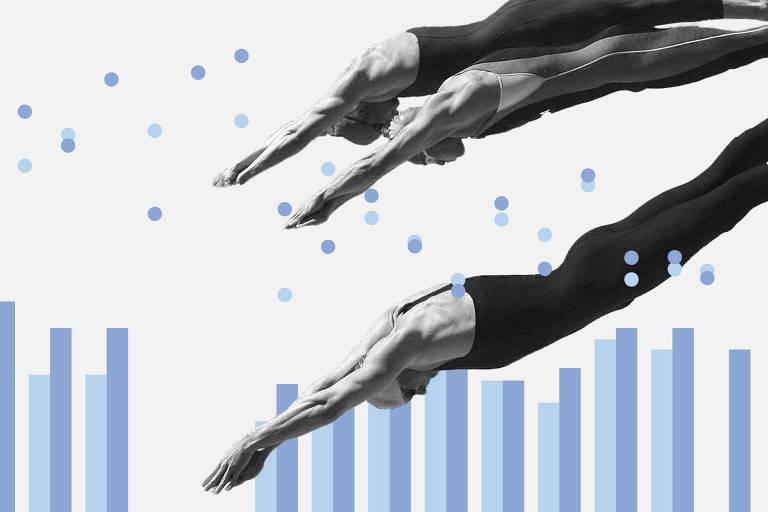 Natação em Tóquio-2020 começa com perseguição a recordes de Pequim-2008