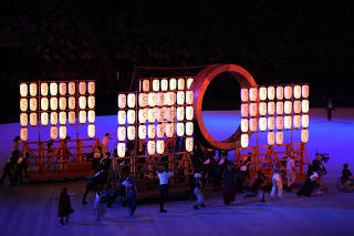(TOKYO2020)JAPAN-TOKYO-OLY-OPENING CEREMONY