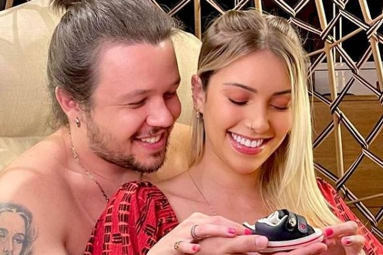 Bruno Scornavacca anuncia gravidez da namorada Malu Prange