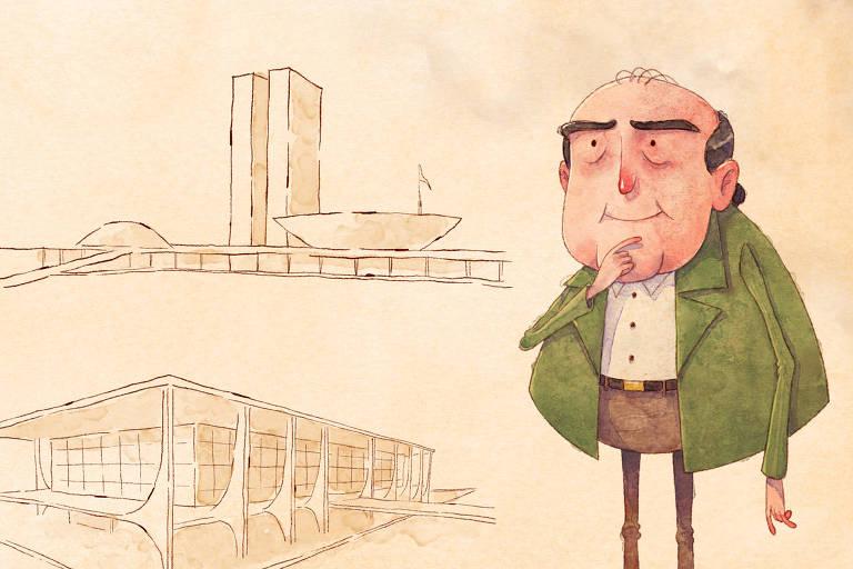 Coleção Folha mostra toda a trajetória de Oscar Niemeyer, o arquiteto que criou Brasília