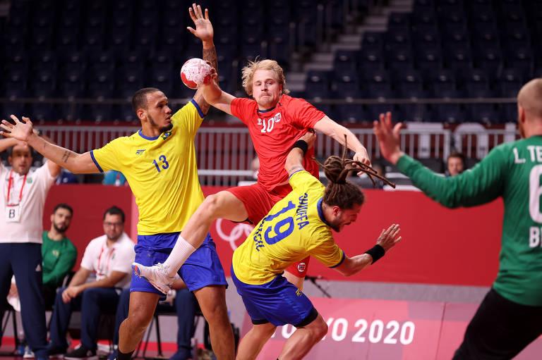 Magnus Frederiksen da Noruega em ação