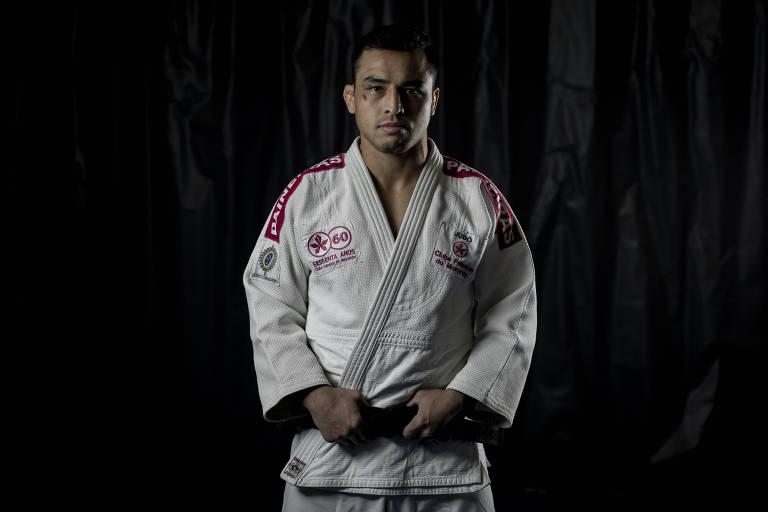 Irmã e técnico do judoca Eduardo Katsuhiro foram atletas olímpicos pelo Brasil