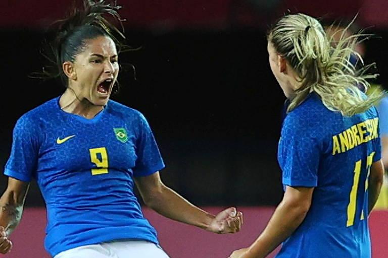Brasil e Holanda empatam jogo de seis gols, e Marta anota seu 13º em Olimpíadas