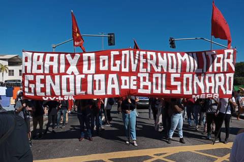 Pela quarta vez, manifestantes voltam a promover atos contra Bolsonaro pelo país