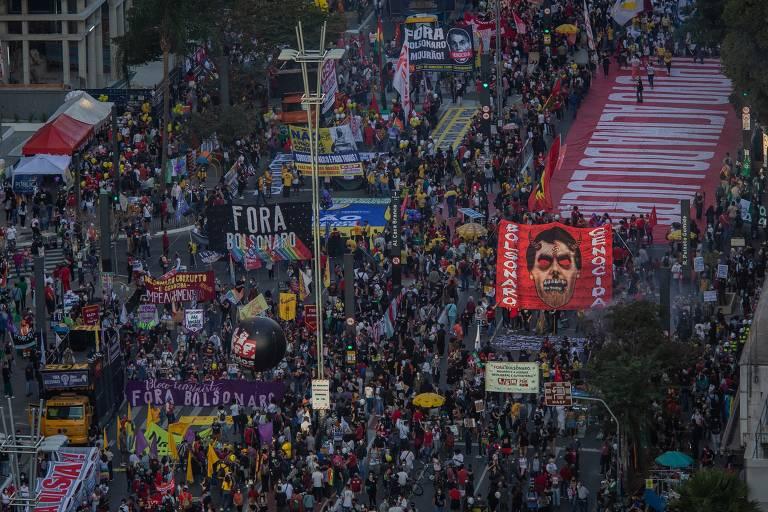 Com cansaço do público, organização de atos contra Bolsonaro admite repensar datas e estratégias