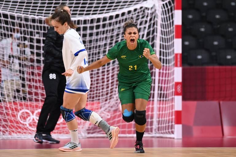 Brasil e ROC empatam em 24 a 24 na estreia dos Jogos de Tóquio