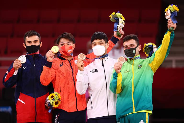 Judoca Daniel Cargnin busca medalha em Tóquio