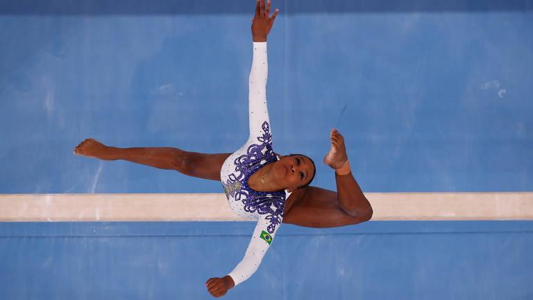 Veja as imagens da qualificatória da ginástica artística feminina