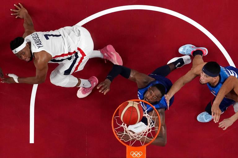 Dream Team vive pesadelo e perde para França na estreia das Olimpíadas