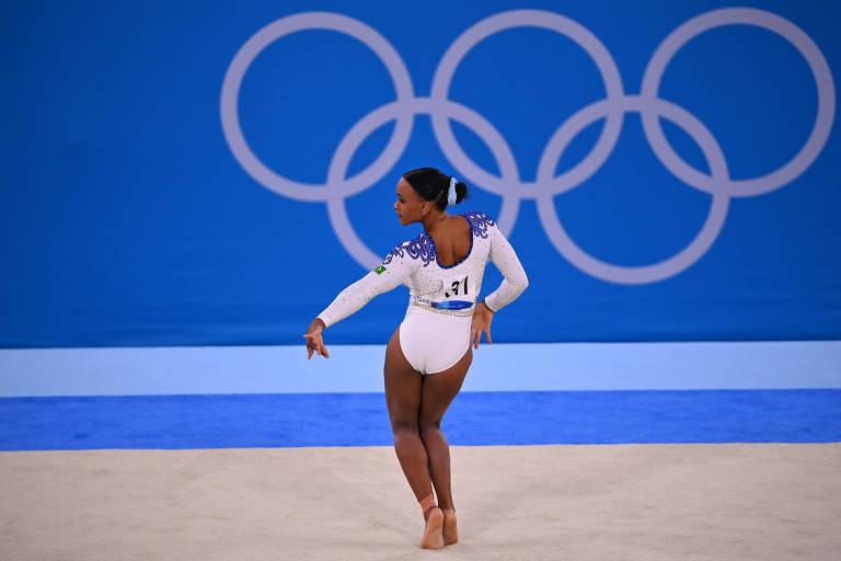 Segundo dia de Olimpíadas tem baile de Rebeca e prata no skate