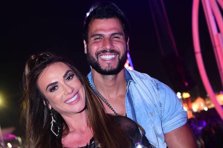 Nicole Bahls e Marcelo Bimbi se separam após três anos de união