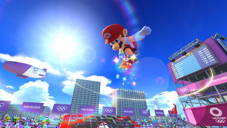 Onde está Mario? De fora da abertura, personagem reaparece em game de Tóquio-2020