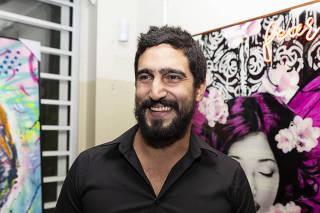 Festa de comemoração dos 5 anos da galeria Luis Maluf Art Gallery com leilão e Cidades Invisíveis
