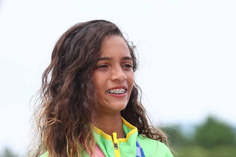 Famosos comemoram medalha de Rayssa Leal, a 'Fadinha' do skate