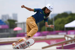 (TOKYO2020)JAPAN-TOKYO-OLY-SKATEBOARDING-WOMEN-STREET-FINAL