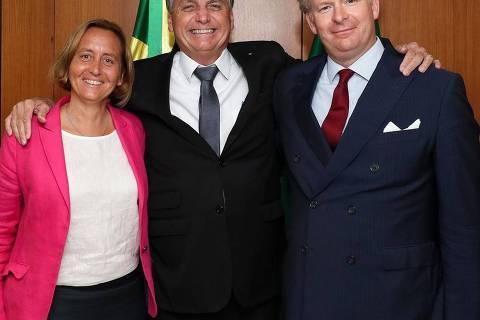 Fora da agenda, Bolsonaro recebeu vice-líder da ultradireita da Alemanha