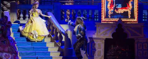 'A Bela e a Fera - O Musical', que será encenado no Teatro Claro