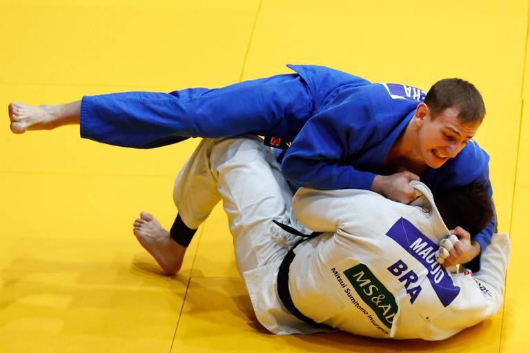Irmão perde vaga e vira conselheiro do judoca Rafael Macedo, estreante nas Olimpíadas