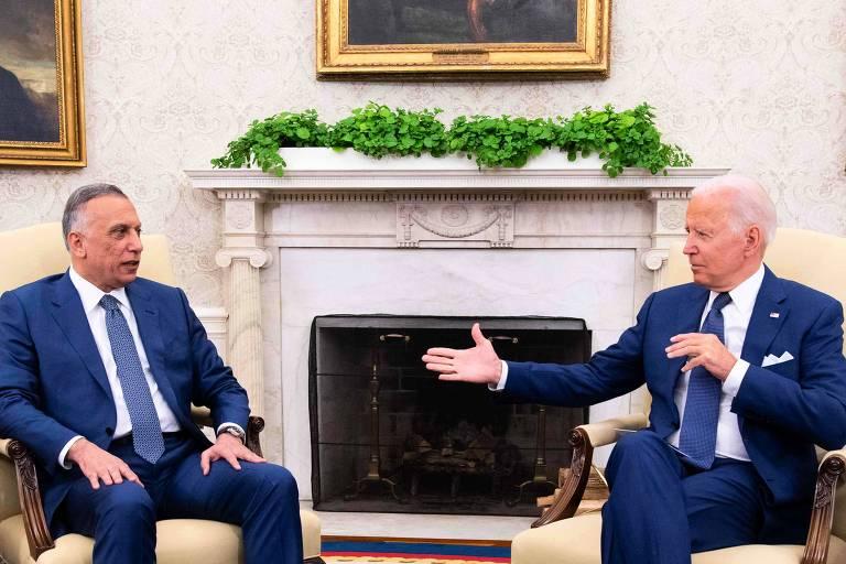 Biden anuncia fim de missão de combate no Iraque, mas não define retirada de tropas