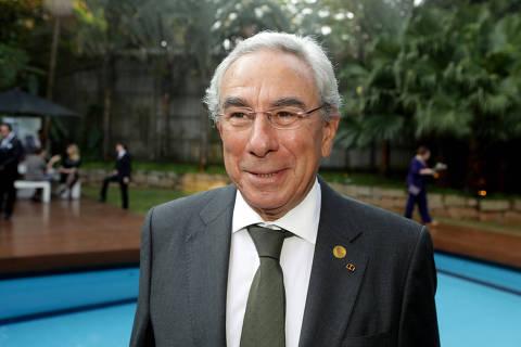 SÃO PAULO, SP, 06.08.2016: EXPOSIÇÃO-SP - O embaixador de Portugal no Brasil, Francisco Ribeiro Telles, durante coquetel de inauguração da exposição