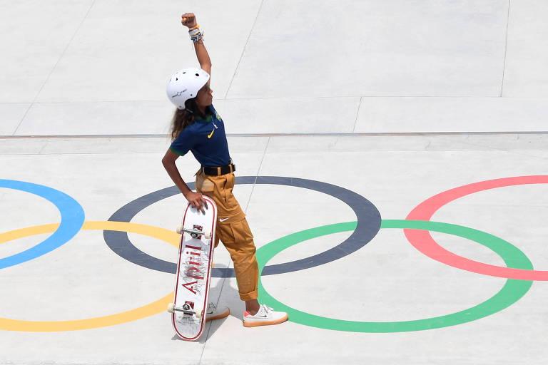 Skate dribla resistências, faz boa estreia e ajuda a rejuvenescer Olimpíadas