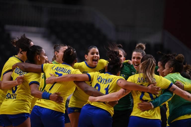 Brasil vence a Hungria por 33 a 27