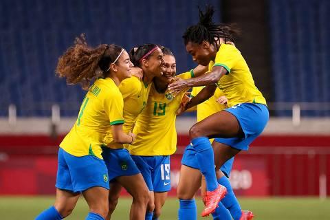 Seleção feminina de futebol vence duro embate contra Zâmbia e se classifica nas Olimpíadas