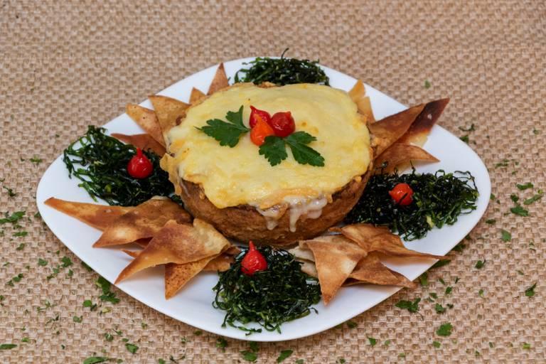 Bar Flechas criou o petisco Vulcanesca para o Comida di Buteco