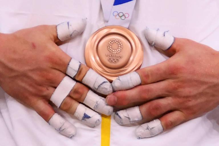 Olimpíadas nos detalhes