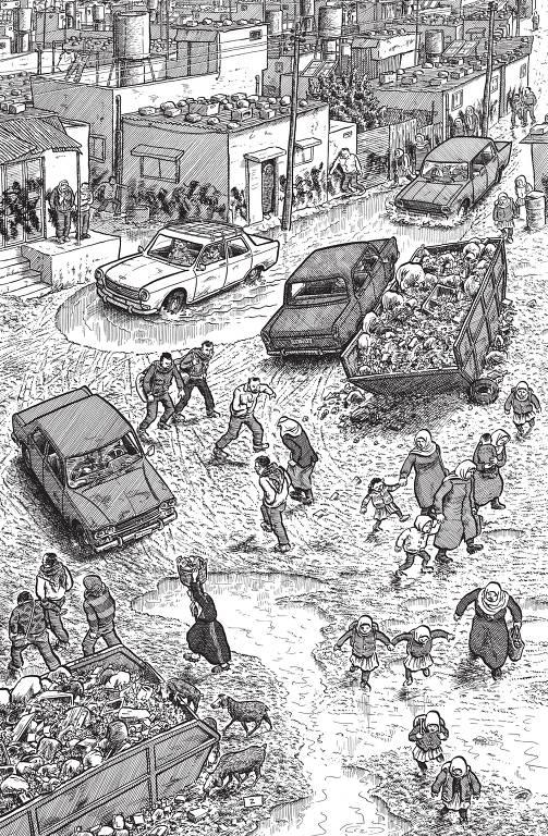 'Palestina', cânone do jornalismo em quadrinhos, é relançada