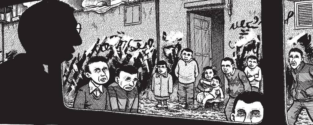 quadrinhos sobre palestina
