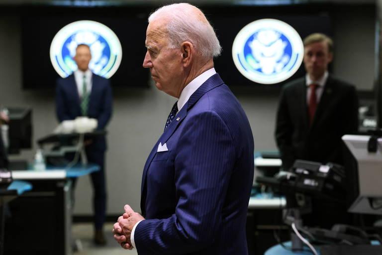 Biden acusa Rússia de querer interferir nas eleições americanas de 2022