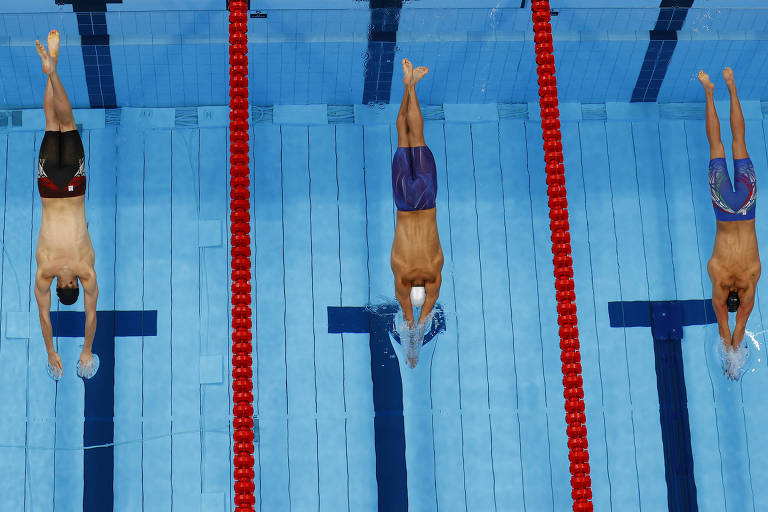 Leo de Deus termina em 6º nos 200 m borboleta, mas coroa espera de 9 anos por final