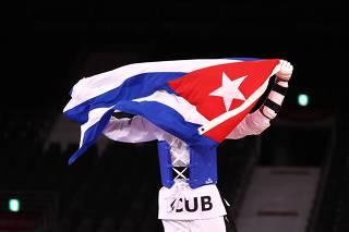 Taekwondo - Men's Heavyweight +80kg - Bronze medal match