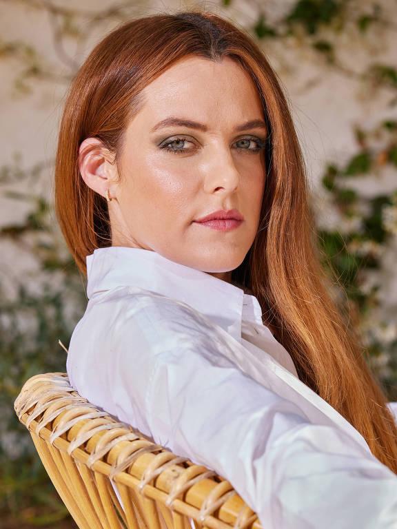 A atriz Riley Keough em Los Angeles