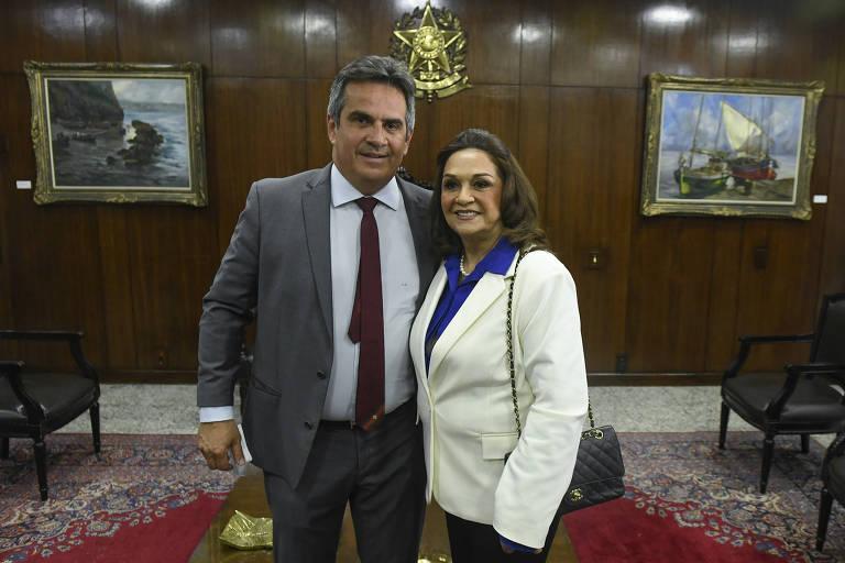 Mãe de Ciro Nogueira, agora senadora, ocupou cargos em gabinetes de filho e marido na Câmara