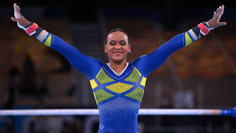 Rebeca Andrade disputa final da ginástica nas Olimpíadas