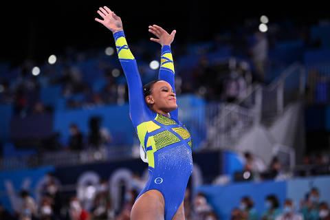 Ginástica brasileira, medalhista com Rebeca, teve tradição forjada nos anos 2000