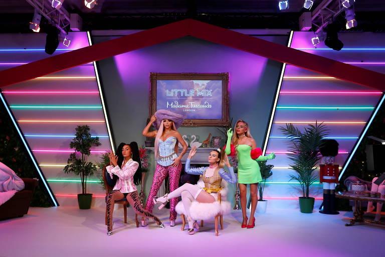 Grupo feminino britânico, Little Mix ganha estátuas de cera no Madame Tussauds de Londres em seus 10 anos