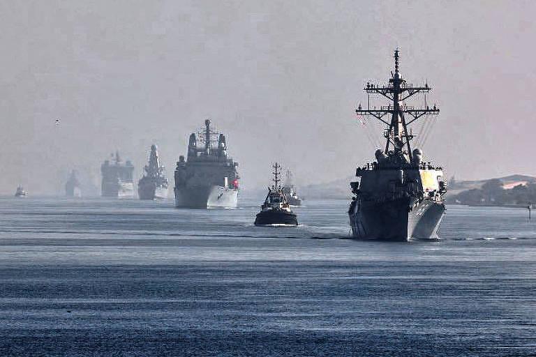 EUA, Reino Unido e China se provocam com novos exercícios militares