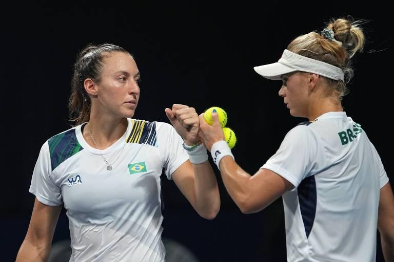 'Bem frustradas', tenistas Luisa Stefani e Laura Pigossi agora focam bronze