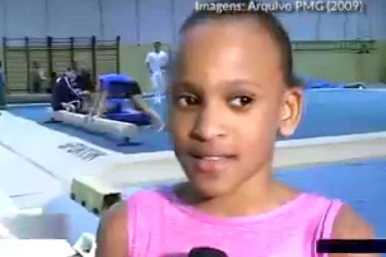 Após prata, vídeo de Rebeca aos 10 anos bomba na Internet