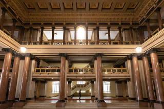 Vista interna do Tribunal de Justiça do Estado de São Paulo