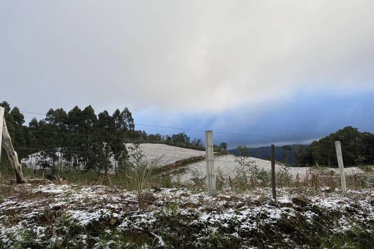 Neve na Serra Gaúcha