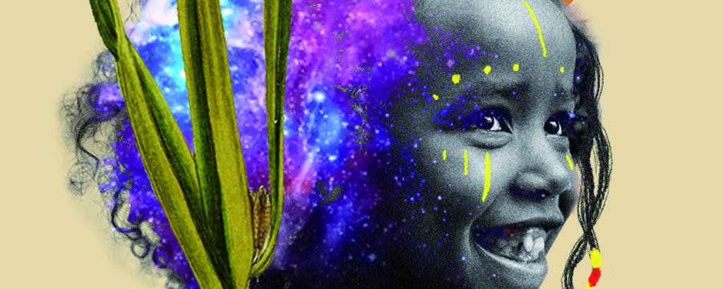 Ilustração de Silvelena Gomes para o Especial sobre Afrofuturismo da primeira turma de treinamento para jornalistas negros