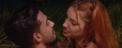 Brenda e Matheus se empolgam no Brincando com Fogo Brasil