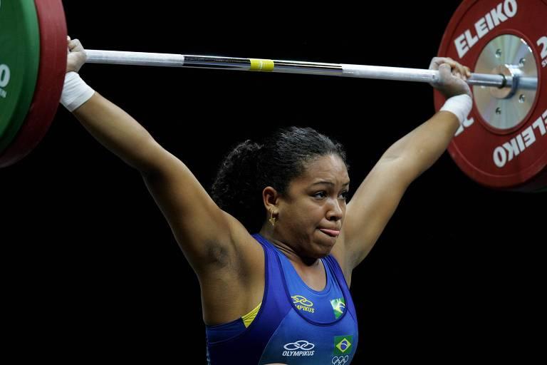 Jacqueline Ferreira em ação nos Jogos Pan-Americanos do Rio de Janeiro 2007